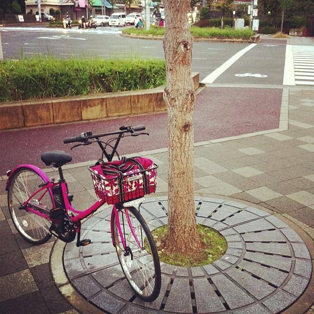 カワイイ電動アシスト自転車が入荷!A.girl's エーガールズ 雑誌とのコラボ商品です!個人的な意見ですがカタログと全く違う雰囲気を持った自転車です!是非実物を見て欲しいです! #eirin #電動アシスト自転車 #panasonic #A.girl's #エーガールズ