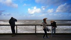Blankenberge  0030 (Lieven SOETE) Tags: light storm nature water coast sand eau belgium belgique lumire sable cte northsea belgian merdunord tempte belge 2013
