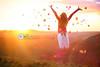 Autumn Jump (Sasha L'Estrange-Bell) Tags: sunset red leaves leaf jump jumping oliviabell tbsart