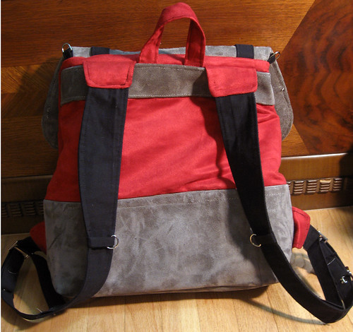 Vulpes familiaris Cooper backpack: back