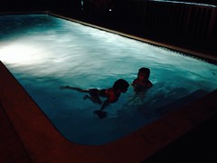 Last Night Swim (pete4ducks) Tags: cameraphone travel winter vacation hawaii pete bigisland iphone 2014 pete4ducks peteliedtke