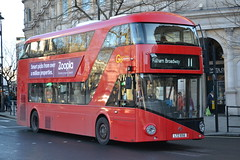 Go-Ahead London General LT56 LTZ1056 (Will Swain) Tags: uk travel england bus london buses square coach general britain transport central january trafalgar greater 11th coaches 2014 goahead lt56 ltz1056