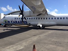 IMG_1385 (mysteral) Tags: france plane airport martinique guadeloupe antilles