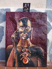 Mafuta (paraisoalicantino) Tags: color vida negra lucha texturas pintura oleo poder efecto fuerza etnia razas viveza tridemension magnatismo