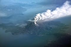 Sakurajima Volcano, Japan (Jaws300) Tags: airborne fromabove flyingscenery sakurajima volcano japan ash volcanic volcanicash plume erruption