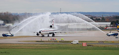 Biman Bangladesh Airlines Water Salute S2-ACR (birrlad) Tags: airplane fire airport birmingham taxi aircraft aviation airplanes flight apron international engines airline airways douglas airlines bangladesh pleasure airliner dc10 mcdonnell taxiway biman bhx dc1030 watersalute s2acr
