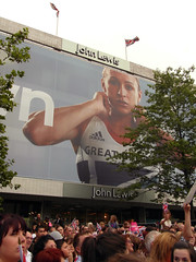 Jessica Ennis' Sheffield Homecoming, August 2012 (Dave_Johnson) Tags: jessicaennis sheffield london2012 olympicgames jessennis jessicaennishill jessennishill southyorkshire olympian olympics