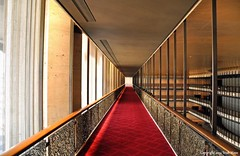 Walking The Red Carpet (Trish Mayo) Tags: red lines theater corridor lincolncenter redcarpet thebestofday gününeniyisi kochtheater davidhkochtheater