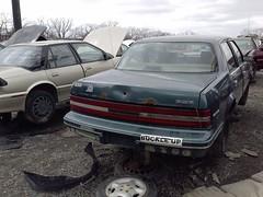 U Pull It (crinklycracks) Tags: century pull buick it u junkyard flickrandroidapp:filter=none