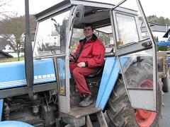 Traktorfahrer Wilmes