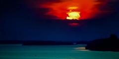 "Sunset over Vistula River by fernotte. Thank you very much. Poland April 2014 (Smo_Q) Tags: trip sunset sun nature river landscape spring poland polska polen polonia wisła vistula wisla rzeka польша płock 波兰 ポーランド 폴란드 ""pentax k5"""