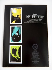 Limited Edition Maleficent Lithograph Set - US Disney Store Purchase - First Look - Rear Insert - Full Rear View (drj1828) Tags: set us purchase limitededition disneystore firstlook lithograph maleficent productinformation le3000