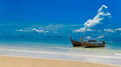 Krabi Beach, Thailand (matthias.kampf) Tags: thailand reisen asia asien sdostasien urlaub kultur culture cultura krabi theworld diewelt paknam