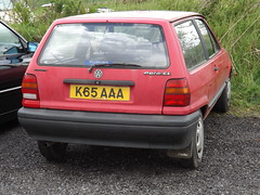 1992 VOLKSWAGEN POLO 1.3 CL (581) (geccove) Tags: vw volkswagen wagon mk2 1992 13 polo cl aaa mkii facelift breadvan