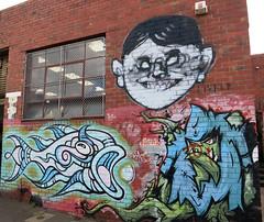 Collingwood Mural by Lister, Phibs & ? (wiredforlego) Tags: streetart graffiti mural collingwood au australia melbourne mel urbanart lister phibs