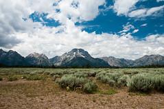 The Majestic Tetons (wenzday01) Tags: park travel sky mountains nature clouds nationalpark nikon wyoming nikkor grandteton wy grandtetonnationalpark d90 nikond90 18105mmf3556gedafsvrdx