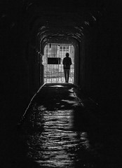 Light at the end of the tunnel (2geephotography) Tags: blackandwhite blackwhite sydney australia tunnel canon5dmkiii georgeheights 2geephotography