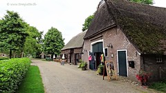 Orvelte, Drenthe, Netherlands - 1806 (HereIsTom) Tags: travel sun holiday holland nature netherlands dutch bike bicycle museum cycling vakantie europe village view you sony nederland cybershot tourists cycle views fietsen drenthe dorp webshots orvelte fietsvakantie hx9v wsweekly102