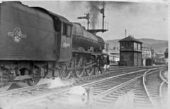 45694 Skipton c1959 (Brit 70013 fan) Tags: station jubilee engine steam skipton bellerophon 45694