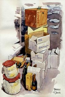 Parnac, Bidons et cartons