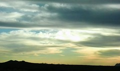 2015-01-23 17.21.17 B (Khaled M. K. HEGAZY) Tags: cameraphone sunset sky cloud mountain nature car clouds landscape outdoor horizon cellphone samsung kingdom saudi arabia           madinamakkah