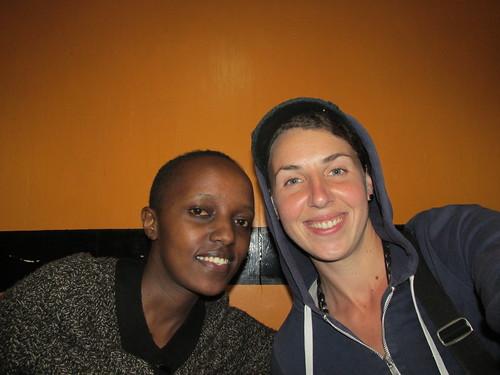 Avec Wangari, Couchsurfing, Nairobi, Kenya
