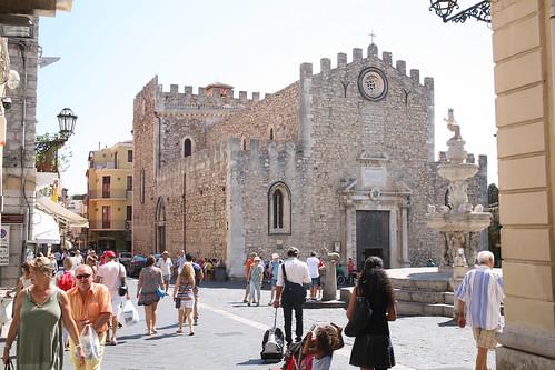 500 Taormine, la cathédrale
