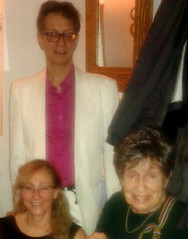 Jeremy Green, Ruth Schamroth and Sylvia Green