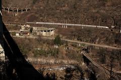 SBB ICN Intercity Neigezug  RABDe 500 011 - 2 mit Taufname Blaise Cendrars ( Schweizer Schriftsteller + Abenteurer => NE => 01.09.1887 - 21.01.1961 ) in den Schlaufen der Biaschina auf der Gotthard Südrampe der Gotthardbahn im Kanton Tessin der Schweiz (chrchr_75) Tags: chriguhurnibluemailch christoph hurni schweiz suisse switzerland svizzera suissa swiss chrchr chrchr75 chrigu chriguhurni februar 2015 hurni150220 albumgotthardsüdrampe gotthard gotthardbahn südrampe kantontessin kantonticino sbb cff ffs rabde 500 albumsbbicnrabde500 intercity neigezug albumbahnenderschweiz albumbahnenderschweiz201516 schweizer bahnen eisenbahn bahn train treno zug juna zoug trainen tog tren поезд lokomotive паровоз locomotora lok lokomotiv locomotief locomotiva locomotive railway rautatie chemin de fer ferrovia 鉄道 spoorweg железнодорожный centralstation ferroviaria steinbrücke steinbogenbrücke bogenbrücke brücke bridge pont ponte