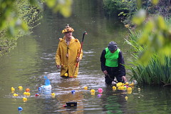 Duckmaster admin (scotch egg) Tags: kent shoreham duckmaster darent shorehamduckrace