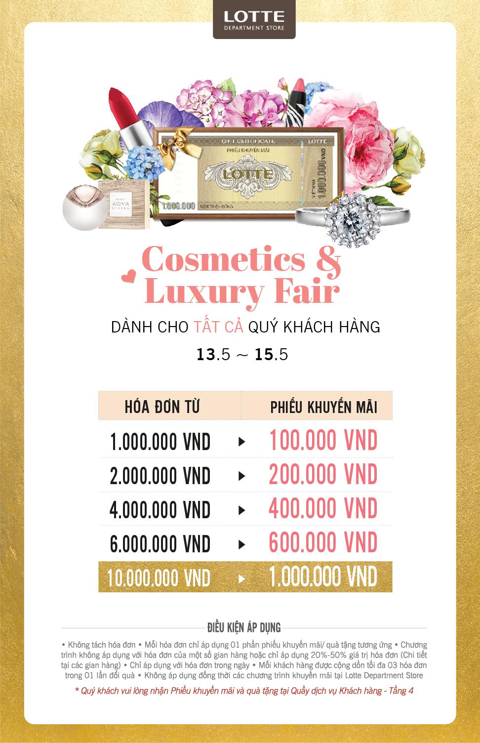Cosmetics & Luxury Fair