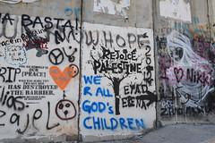 Bethlehem (Crispianb) Tags: wall graffiti westbank bethlehem