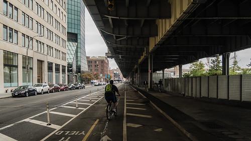 bike lane   new york city, september 2014   #LumixGX7