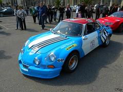 Renault Alpine A110 (kity54) Tags: auto old classic cars car automobile voiture coche ancienne ancien vhicule renaultalpinea110 odler 12emerallyehistoriquedelorraine