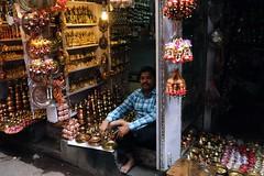 Trinkets (zacdavies) Tags: india store religion ornament varanasi trinket