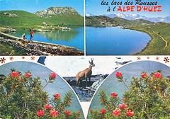 Ansichtkaart Alpe D'Huez Isre Rousses (dickjan thuis) Tags: postcard alpe dhuez alpedhuez ansichtkaart rousses isre