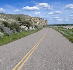 Road 311.   Montana (montanatom1950) Tags: montana suzuki backroads dl650 vstrom motorcycletouring