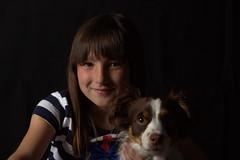 Irene estudio prueba 1 (R.D. Gallardo) Tags: canon eos raw retrato negro estudio nios luna nia perro irene mascota 600d buru