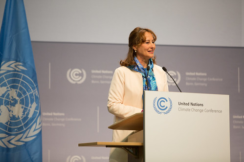 H.E. Ms. Ségolène Royal, Minister of Environment, Energy and the Sea, and President of COP 21/CMP 11