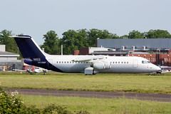 OO-DWF (Al Henderson) Tags: england rj unitedkingdom aircraft aviation bedfordshire gb bae airliner avro cranfield regionaljet rj100 brusselsairlines egtc oodwf e3332 falkoregionalaircraft