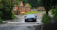 Rufford Ford (Diesel Dude.) Tags: road park uk summer england art cars ford wet water fashion june canon river eos interesting flickr driving crossing flood artistic country transport fast rail railway explore telephoto british jaguar splash dslr dull britishrail rufford nottinghamshire mustsee countrypark notts 2016 britishrailways maun watercrossing ruffordcountrypark inexplore 100d ruffordford a614 rivermaun ruffordlane