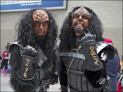 Comic Con London - May 2016 (Craig 2112) Tags: london trek star comic cosplay klingon comiccon con excel mcm may2016