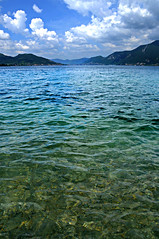 untitled (iseo - brescia, italy) (bloodybee) Tags: blue sky italy mountain lake water clouds landscape europe brescia iseo prealps sebino 365project alpinefoothills