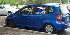 Home on Fit Wheels   --   Studio_20160517_192826 (mshnaya ☺) Tags: camera leica blue home car point photo flickr shoot foto image florida candid homeless snapshot wheels picture capture fit livein leicac