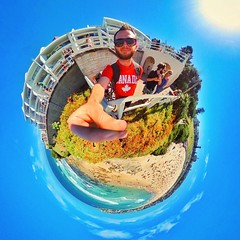 I live 7km from the best beach on planet earth, yet somehow only make it out here once a year- on the plus side though I'm getting a shade darker with every minute that passes  #pastywhitedude4lyf (LIFE in 360) Tags: square 360 virtualreality squareformat spherical 360view theta stereographic thetas photosphere tinyplanet tinyplanets 360panorama panorama360 littleplanet smallplanet 360camera 360photo 360photography 360video iphoneography instagramapp uploaded:by=instagram 360cam tinyplanetbuff tinyplanetfx tinyplanetspro ricohtheta theta360 rollworld livingplanetapp rollworldapp ricohtheta360 ricohthetas lifein360