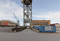 IMG_5944 - Old shipyard (ragnarfredrik) Tags: abandoned industry cranes shipyard kraner fmv industri abandonedshipyard industrifredrikstad