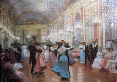 Elegant Ball (pefkosmad) Tags: men art painting dance women dancing deluxe victorian hobby puzzle falcon leisure jigsaw complete pastime 1000pieces victorgabrielgilbert elegantball