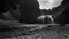 Waterfall (Origin_AL) Tags: travel sky blackandwhite bw water monochrome landscape waterfall iceland rocks europe widescreen nd filters slowshutterspeed polariser bigstopper
