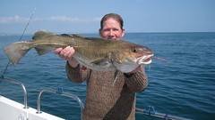 "Neil Varney with his 10 lb Cod • <a style=""font-size:0.8em;"" href=""http://www.flickr.com/photos/113772263@N05/27256383531/"" target=""_blank"">View on Flickr</a>"