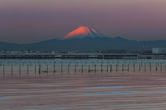 The Glow 0199 (kbaranowski) Tags: longexposure urban reflection japan horizontal skyline architecture modern night skyscraper sunrise outdoors photography dawn volcano tokyo cityscape citylife tranquility nopeople illuminated transportation nippon japaneseculture touristattraction nihon mtfuji tokyobay urbanlandscape tokio twillight urbanstreets capitalcities buildingexterior touristdestination krzysztofbaranowski 2016krzysztofbaranowski
